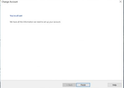 proweb email setting 7